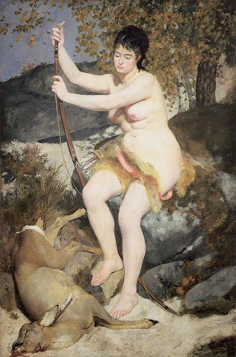 Diana the Huntress by Renoir